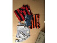 Bundle of girls Hollister clothes