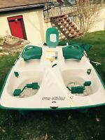 Pedal boat new