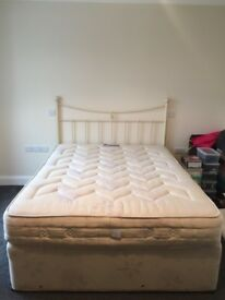 King Size Divan Bed and Headboard