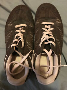 AMERICAN EAGLE BROWN/PINK SHOES