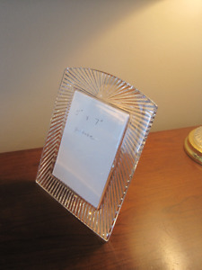 24% lead  Waterford Crystal picture frame