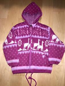 Alpaca hoodie