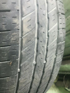 4 tires year 2010 P225/70R16 101T