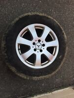 OEM MERCEDES ML350 RIMS AND TIRES