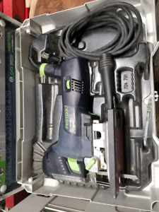 Festool Carvex with all the accessories