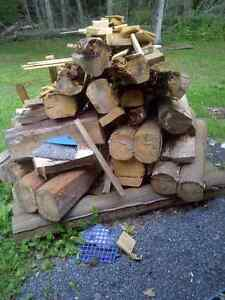 SEASONED FIREWOOD CUT AND BLOCKED