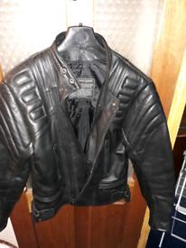Richa leather motorbike jacket.