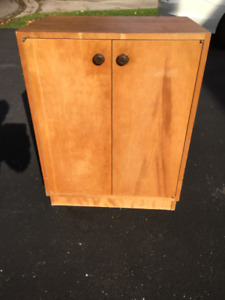 Solid Wood Stand / Storage Cabinet with Doors