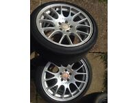Bbs ch 19x9j 5x120 bmw original onley 2 of