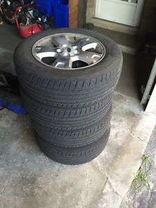 Ford Rims and Tires _ Kelly 215 65 R17