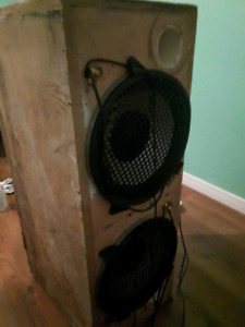 2 1200w subwoofers