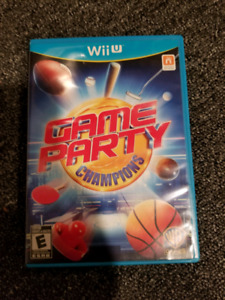 WiiU Game Party