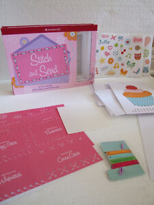 American Girl Stitch and Send greeting cards kit - Brand new London Ontario image 2