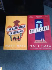 Matt Haig books