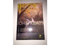 York Notes Advanced John Keats Selected Poems - John Keats