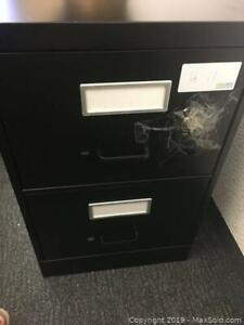 2 drawer classic file cabinet A