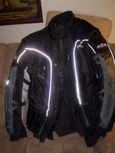 "*Price Reduced ""Made To Race"" Motorcycle Jacket 3 Piece Jacket"