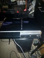 PS3 fat console for sale.