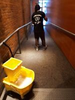 COMMERCIAL CLEANING SERVICE VANCOUVER OFFICE GYM HIGHRISE $25HR