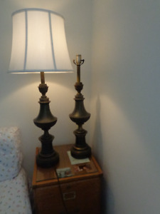 Solid Brass Stiffel Lamps