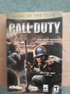 Full Case: CALL OF DUTY 2003 PC GAME
