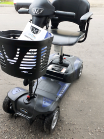 Mibility scooter folds can be delivered
