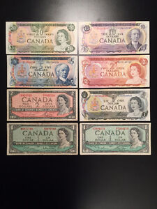 Old Canada Banknotes / Paper Money, $75- obo / NICE !