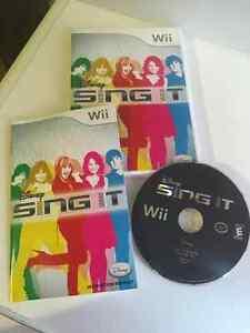 Wii Game - Disney Sing It Windsor Region Ontario image 1