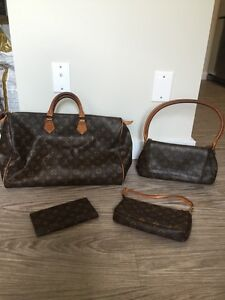 Authentic Louis Vuitton Monogram Canvas - see ad for prices