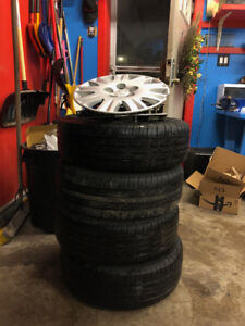 2012 Honda Civic- Summer Tires On Rims Included!