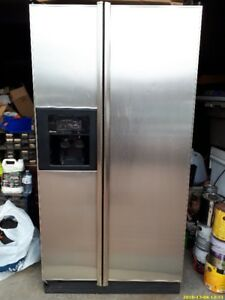Kenmore Refrigerator, Stainless steel, French door, only $225