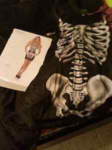 Ladies skeleton costume!!!