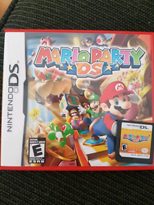 Nintendo ds game. Mario party ds