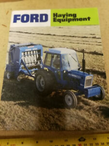 FORD HAYING EQUIPMENT BROCHURE