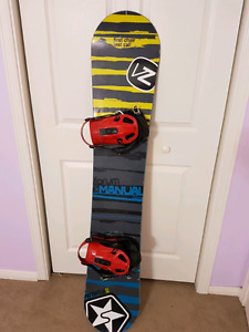 Forum manual 152 snowboard with K2 Indy bindings