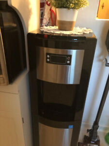 New Bottom Load Hot and Cold Water Dispenser in stainless steel