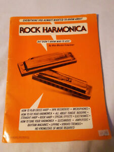 """How to"" ROCK HARMONICA Music Book"