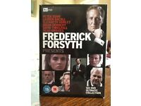 Frederick Forsyth boxed set of 6 DVDs