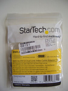Startech DVI-I to DVI-D Dual Link Video Cable Adapter F/M