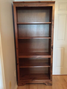 Solid Wood Bookshelf for Sale