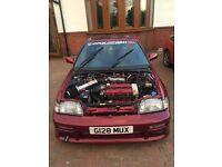 HONDA CRX 1990 (type r 200sx turbo vtec 300zx eg sir starlet Evo Subaru )