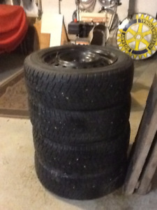 4 TOYO WINTER TIRES LIKE NEW