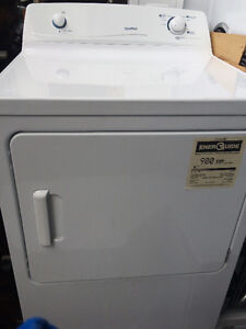 Nice White Full Size Moffat 220 Volt Dryer