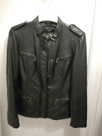 Wore twice French connection biker jacket