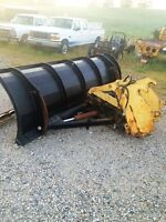 2008  11 foot quick attach power angle SNOW PLOW