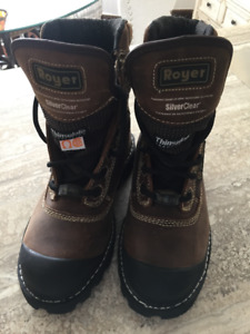 ROYER....workboots..Brand New