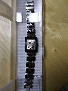Unique Silver Swatch Watch Kitchener / Waterloo Kitchener Area image 2