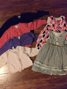 18 month dresses / sweaters