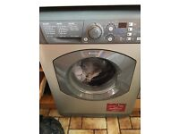 SILVER HOTPOINT AQUARIUS+ 7KG 1400RPM Washing Machine