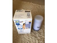 Fast intelligent warming bottle and food warmer Avent & flask